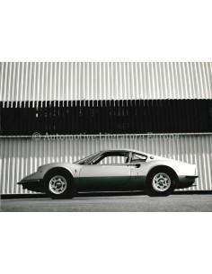 1968 FERRARI DINO 206 GT COUPÉ PRESSEBILD