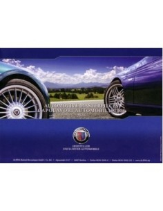2009 BMW ALPINA RANGE BROCHURE ENGLISH