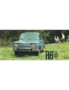 1962 RENAULT R8 PROSPEKT NIEDERLÄNDISCH
