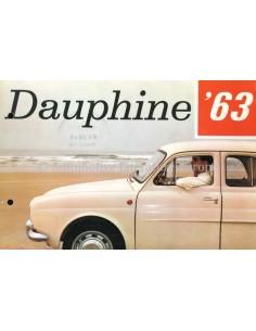 1963 RENAULT DAUPHINE BROCHURE DUTCH