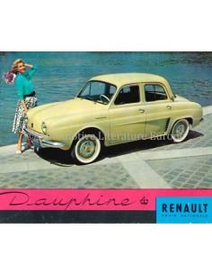 1957 RENAULT DAUPHINE BROCHURE DUTCH