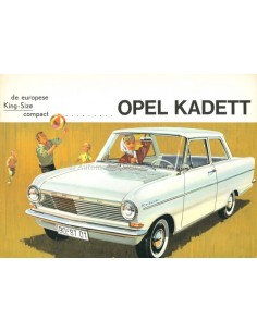 1962 OPEL KADETT A BROCHURE DUTCH