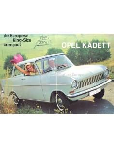 1963 OPEL KADETT A BROCHURE DUTCH