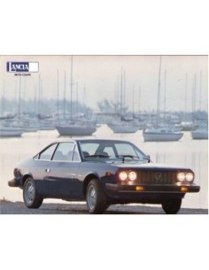 1979 LANCIA BETA COUPE LEAFLET USA
