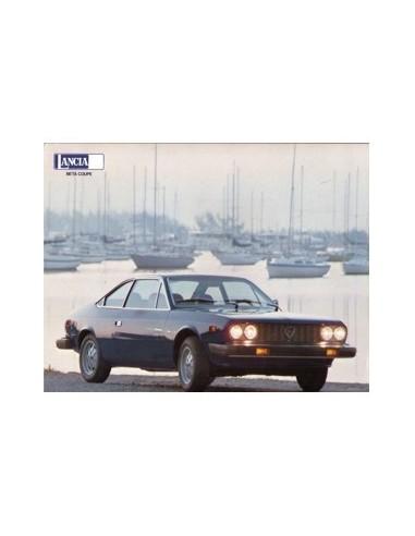1979 LANCIA BETA COUPE LEAFLET USA
