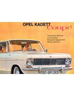 1964 OPEL KADETT A COUPÉ BROCHURE DUTCH