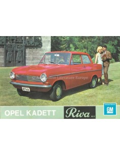 1964 OPEL KADETT A RANGE BROCHURE DUTCH