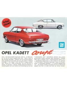 1965 OPEL KADETT B COUPÉ PROSPEKT NIEDERLÄNDISCH