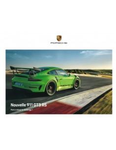 2019 PORSCHE 911 GT3 RS HARDCOVER PROSPEKT FRANZÖSISCH