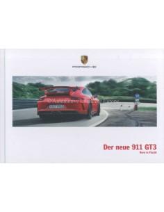 2018 PORSCHE 911 GT3 HARDCOVER PROSPEKT DEUTSCH