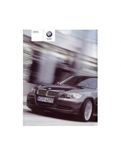 2005 BMW 3 SALOON OWNERS MANUAL HANDBOOK DUTCH
