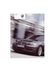 2005 BMW 3 SALOON OWNERS MANUAL HANDBOOK DUTCH