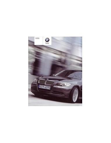 2005 BMW 3 SEDAN INSTRUCTIEBOEKJE NEDERLANDS