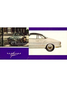 1964 VOLKSWAGEN 1200 KARMANN GHIA BROCHURE GERMAN