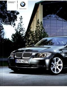 2008 BMW 3 SERIES OWNER'S MANUAL GERMAN