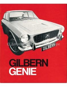 1968 GILBERN GENIE BROCHURE ENGLISH