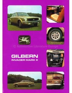 1970 GILBERN MARK III INVADER DATENBLATT ENGLISCH