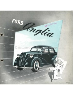 1951 FORD ANGLIA BROCHURE DUTCH