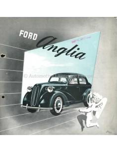 1951 FORD ANGLIA BROCHURE NEDERLANDS