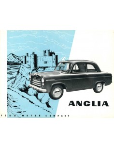 1954 FORD ANGLIA BROCHURE DUTCH