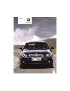 2008 BMW 5 SERIEN BETRIEBSANLEITUNG DEUTSCH