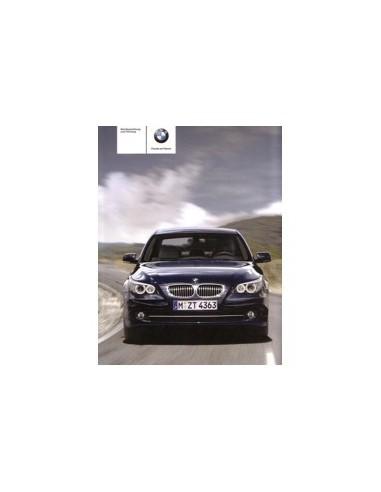 2008 BMW 5 SERIE INSTRUCTIEBOEKJE DUITS