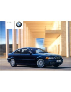 2002 BMW 3 SERIE COUPE INSTRUCTIEBOEKJE NEDERLANDS