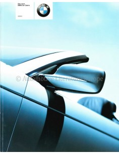 2000 BMW 3 SERIES CONVERTIBLE BROCHURE GERMAN