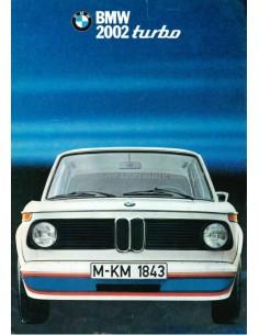 1973 BMW 2002 TURBO BROCHURE DUITS