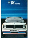 1973 BMW 2002 TURBO BROCHURE DUITS
