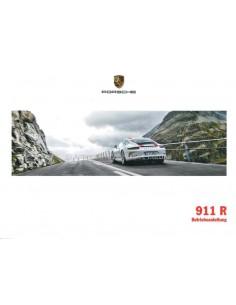 2016 PORSCHE 911 R OWNER'S MANUAL GERMAN