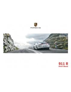 2016 PORSCHE 911 R OWNERS MANUAL DUTCH