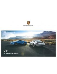 2019 PORSCHE 911 OWNERS MANUAL GERMAN