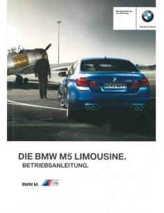 2012 BMW M5 LIMOUSINE BETRIEBSANLEITUNG DEUTSCH