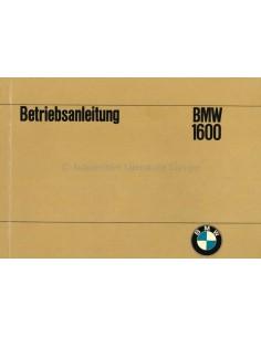 1967 BMW 1600 BETRIEBSANLEITUNG NIEDERLÄNDISCH