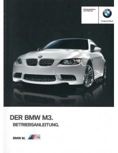 2012 BMW M3 BETRIEBSANLEITUNG DEUTSCH