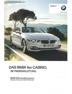 2015 BMW 4 SERIES OWNERS MANUAL GERMAN