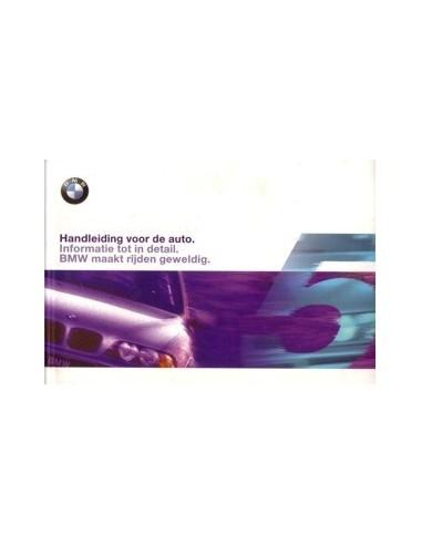 1999 BMW 5 SERIE INSTRUCTIEBOEKJE NEDERLANDS