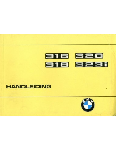 1977 BMW 3 SERIE INSTRUCTIEBOEKJE NEDERLANDS