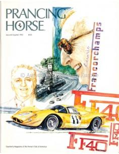 1992 FERRARI PRANCING HORSE MAGAZINE 103