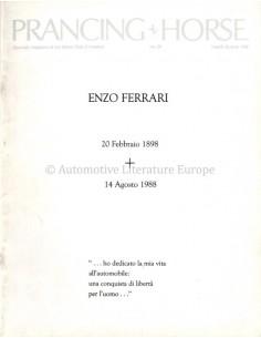 1988 FERRARI PRANCING HORSE MAGAZIN 90