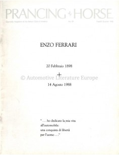 1988 FERRARI PRANCING HORSE MAGAZINE 90