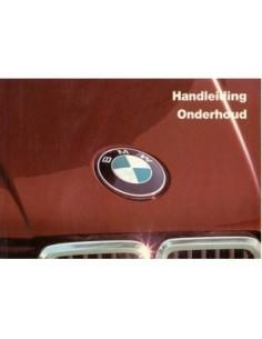 1984 BMW 3 SERIES OWNERS MANUAL HANDBOOK DUTCH