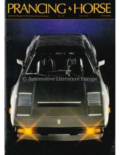 1986 FERRARI PRANCING HORSE MAGAZINE 82