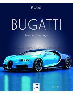 BUGATTI JOURNAL D'UNE SAGA - SERGE BELLU - BOOK