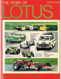 THE STORY OF LOTUS, 1961-1971: GROWTH OF A LEGEND - DOUG NYE - BOEK