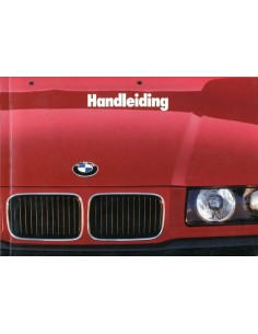 1991 BMW 3 SERIES OWNERS MANUAL HANDBOOK DUTCH