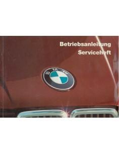 1985 BMW 3ER BETRIEBSANLEITUNG DEUTSCH