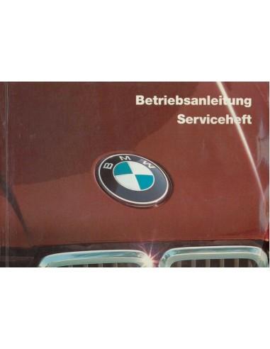 1985 BMW 3 SERIE INSTRUCTIEBOEKJE DUITS