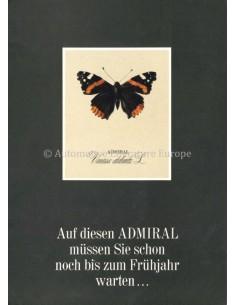 1966 OPEL ADMIRAL A PROSPEKT DEUTSCH